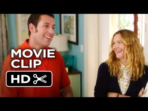 Blended Movie CLIP - I'm Standing Right Here (2014) - Adam Sandler Comedy HD
