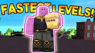 FASTEST WAY TO LEVEL TUTORIAL! | ROBLOX: Super Power Training Simulator