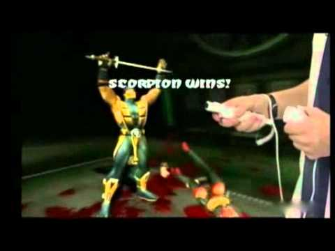 Feature 'Fatalities on the Wii'   Mortal Kombat Armageddon