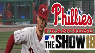 MLB The Show 18 PS4 - Yankees vs Phillies Game 1 (Full Broadcast Presentation)