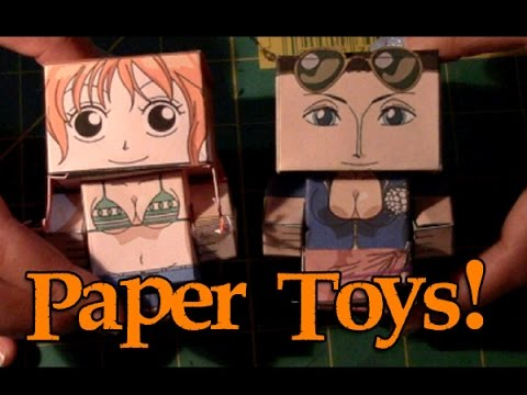 One Piece Papertoys: Nami And Robin video