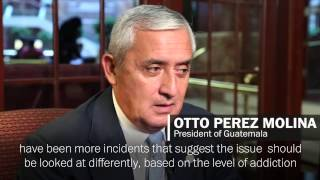 Guatemalan president still mulling whether to legalize marijuana