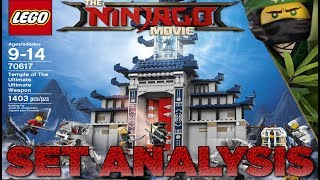 LEGO Ninjago Movie: 70617 The Temple Of The Ultimate Ultimate Weapon Set Analysis! Hidden Secrets!