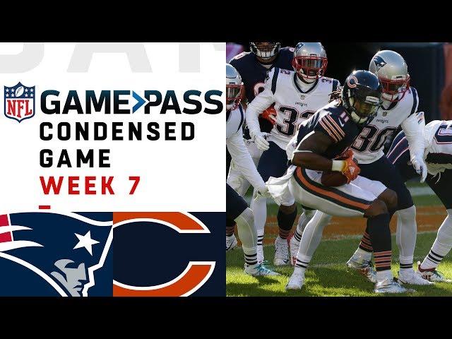 Patriots vs. Bears  Week 7 NFL Game Pass Condensed Game of the Week