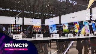 Samsung trưng bày lịch sử điện thoại từ 1988 đến 2019