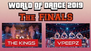 The Kings and VPEEPZ | The World of Dance 2019 Finals
