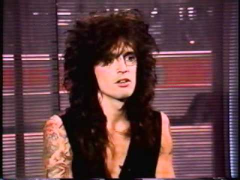 Tommy Lee Interview Live on Much Music 1989