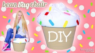 How To Make A Giant Cupcake Bean Bag Chair – DIY Cupcake Beanbag (easy tutorial)
