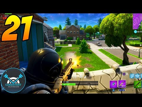 2 HIGH KILL GAMES! (Fortnite Battle Royale Gameplay Part 21 PS4 Pro)