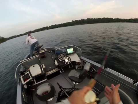 GoPro Muskie Fishing in Minnesota - Trophy Fish 52