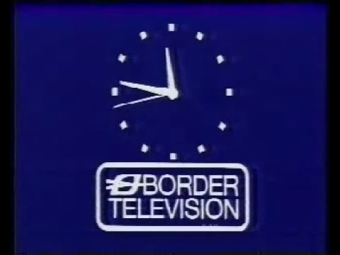 Border Television closedown 1981 with the first colour clock ?