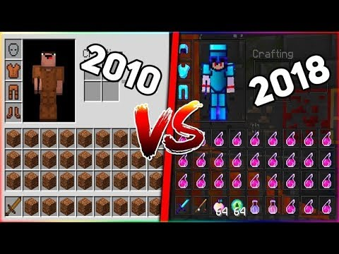 ЭВОЛЮЦИЯ ПВП В МАЙНКРАФТЕ | Minecraft