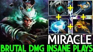 Miracle- [Monkey King] Brutal Damage 23 Kills Insane Plays 7.21 Dota 2