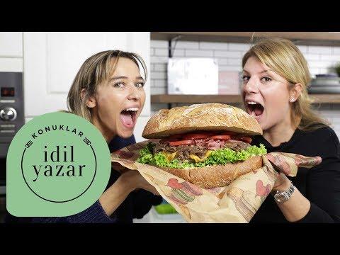 DEV Hamburger Yapımı   Esen Blake ile Hamburger Tarifi   İdil Yazar ile Yemek Tarifleri