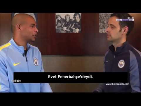 Manchester City'li futbolcu Fernando'nun Alex de Souza için sözleri