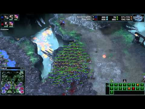 WCS America 2014 S1. Premier League Ro32 Group B M5. Scarlett vs Toodming Game 2
