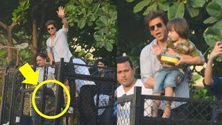 download lagu Shahrukh Khan Birthday 2017 Celebration With Cute Abram Khan gratis