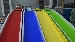 로보카폴리 컬러 미끄럼틀 장난감 Robocar Poli Color Slide Toys
