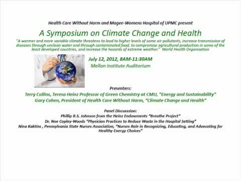Symposium on Climate Change and Health