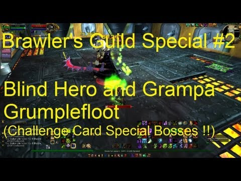 Blind Hero & Grampa Grumplefloot: Brawler Guild Special #2 - WoW Patch 5.3 LIVE !!