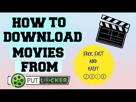 How To Download Movies From Putlocker.ch! (100% WORKING) 2016/2017! streaming vf