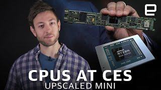 Intel vs AMD at CES 2020 | Upscaled