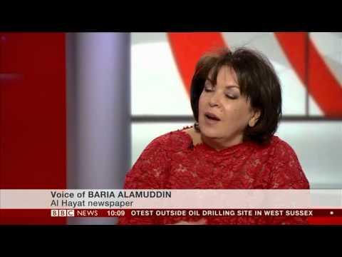 BARIA ALAMUDDIN:- BBC World News - 17 Aug 2013 - EGYPT VIOLENCE