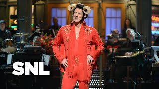 Monologue: Jim Carrey as Helvis Sings About Pecan Pie - SNL