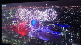 London New Years Eve Fireworks Display 2018 - 2019