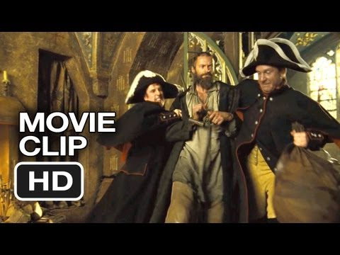 Les Misrables Movie CLIP - The Monsignor (2012) Hugh Jackman Movie HD