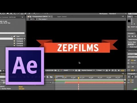 After Effects - #20: Banners estilizados