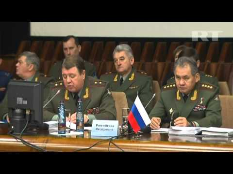 EX-SOVIET States DEFENSE MINISTERS Discuss MILITARY-TO-MILITARY COOPERATION