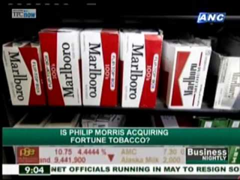 Philip Morris acquiring Fortune Tobacco