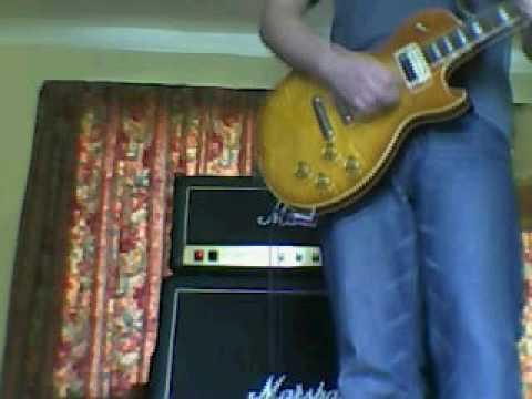 Kossoff tone from Les Paul&JCM 800
