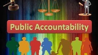 Public Accountability - PowerPoint Presentation
