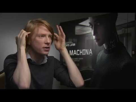 Domhnall Gleeson Interview, Ex Machina, Star Wars and More