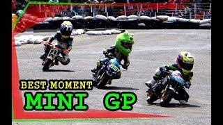 Begini Mainannya Anak Mantan Para Pembalap Nasional [Mini GP usia 8 - 10 tahun]