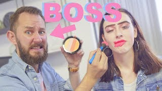 My Boss Does My Makeup!