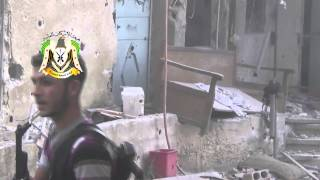 Syria FSA and SAA in a nice firefight 30 07 2013