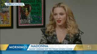 Madonna Video - Madonna - Mornings interview Australia 6 March 2015