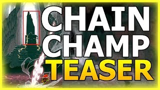 NEW CHAIN CHAMPION Teaser! Gameplay And Abilities? Sylas? Visions Of Demacia! (League Of Legends)