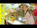 IŞIL KİTAP ALIŞVERİŞİNDE ACABA NELER ALDI ? 3D KİTAP TÜYAP BURSA FUARI VLOG Eğlenceli Çocuk Videosu