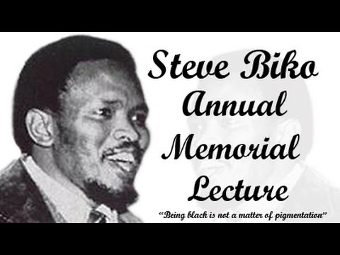 Steve Biko Annual memorial lecture 2014