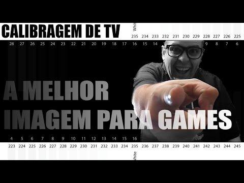 Calibragem De Tv Para Games