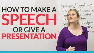 How to give the BEST speech or presentation in English