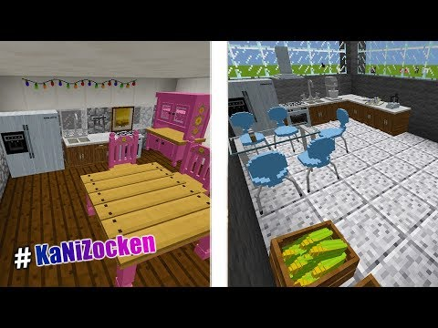 MODERNE KÜCHE BEI MINECRAFT BAUEN! DecoCraft Minecraft Mod - Mit ...