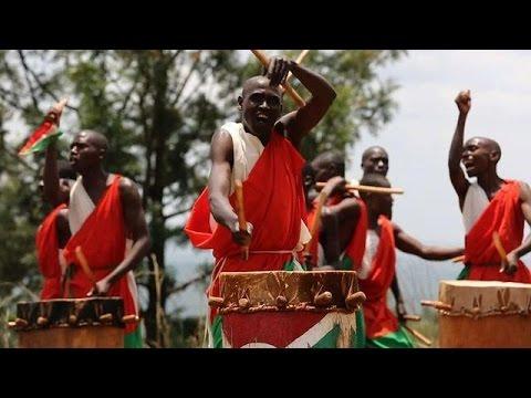 Les tambours, vestiges d'un Burundi royal et uni