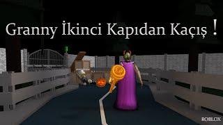 GRANNY İKİCİ KAPIDAN KAÇIŞ ! - ROBLOX TÜRKÇE - PRATİK OYUN