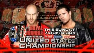 WWE Royal Rumble 2013 Match Card Full