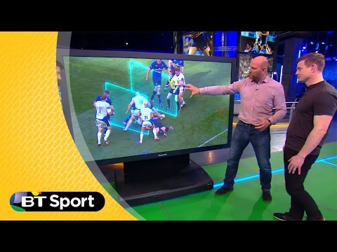 'Ref got controversial Leinster-Bath penalty call right' | BT Sport